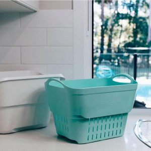 Strucket bucket strainer in mint