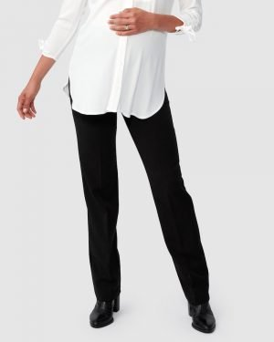 Maternity Work Suiting pants by Pea in A Pod perfect for pregnancy