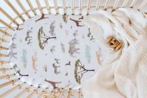 Safari Nursery - Bassinet cover