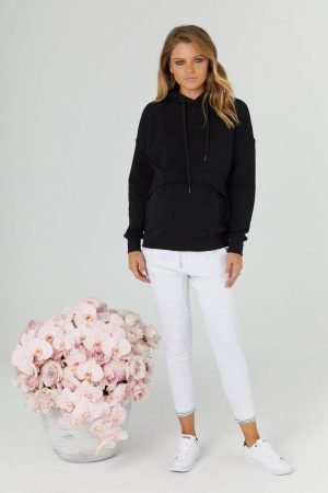Monaco pregnancy and maternity hoodie