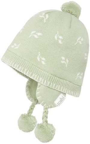 Toshi Baby Earmuffs Leaves side