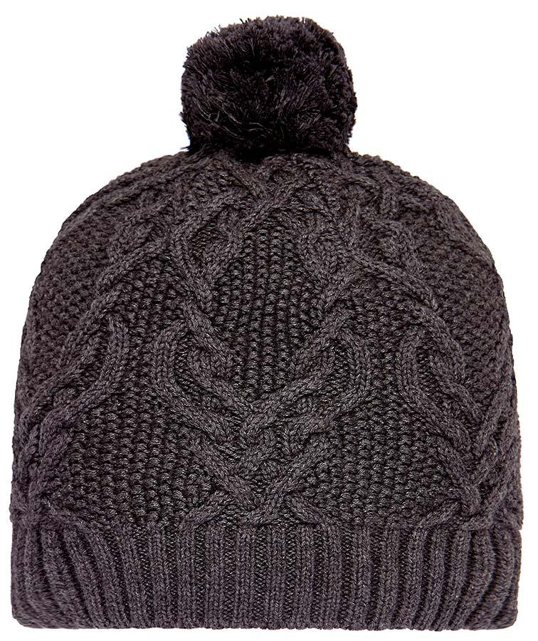 Toshi Beanie Bowie Charcoal
