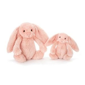 Bashful bunnies blush medium and small