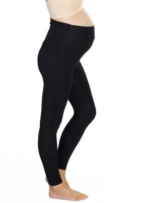 Maternity High Waist Winter Legging Black