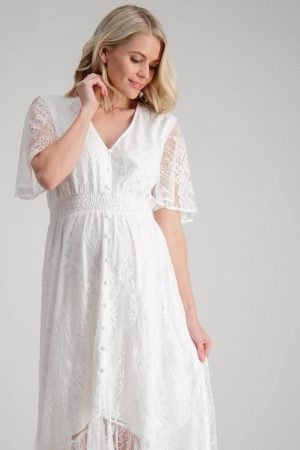 Lace maternity dress the wanderer by Maive and Bo