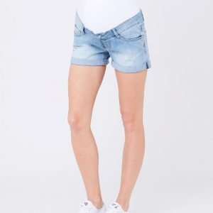 Maternity Denim Shorty Shorts