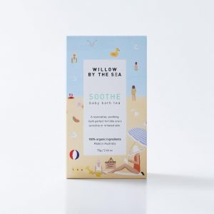 Soothe baby bath tea by Willow by The Sea