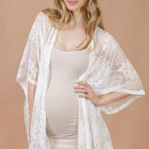 Vintage Lace Kimono by Maive and Bo