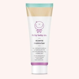 Baby eczema moisturiser cream for itchy dry and irritated skin