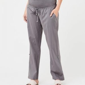 Philly cotton maternity pants sulphur