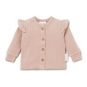 Aster and Oak Flutter Cardigan Organic Cotton