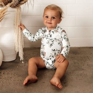 Eucalypt Bodysuit by Snuggle Hunny Kids Baby Clothing