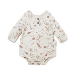 native Flora bubble romper Aster and Oak AW21