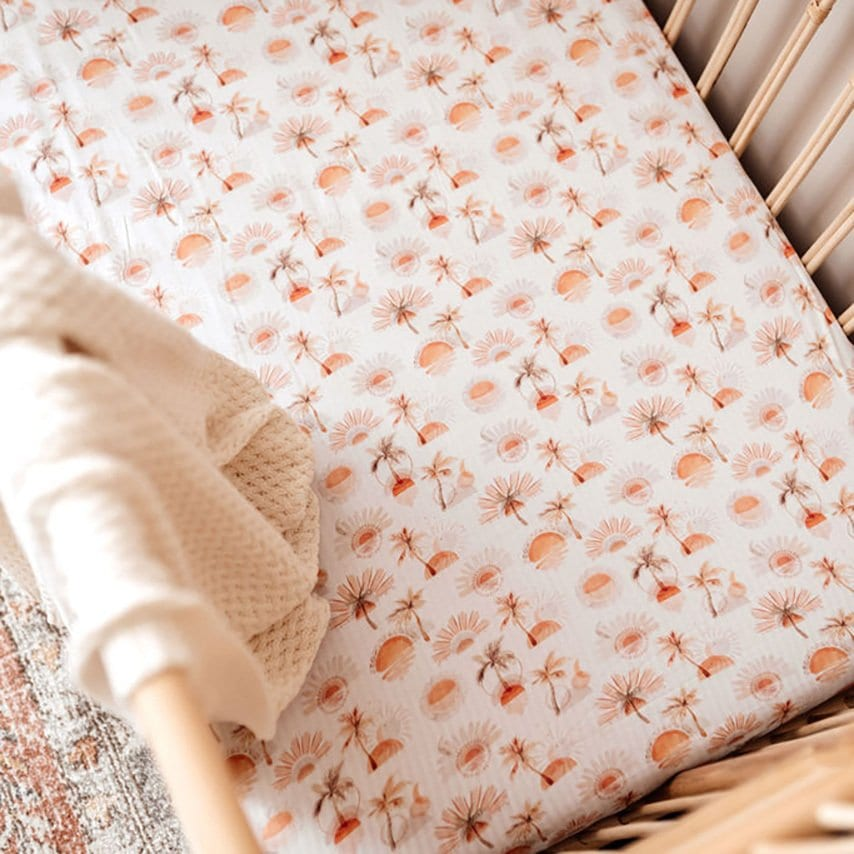 Paradise Fitted Cot Sheet