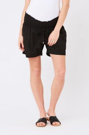 S3221 Philly Cotton Shorts BLK 01