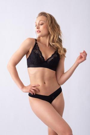 ProjectMe Warrier Plunge Bra Black-XL