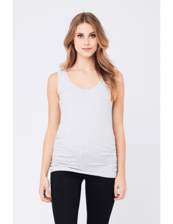 Ripe Scoop Neck Tube Tank Silver3