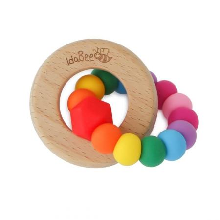 Teether Classic Rainbow IdaBee Eiress Silicone