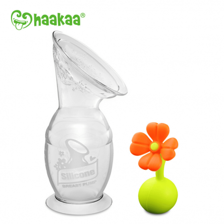 Haakaa Pump Gen 2 With Orange FLower Stopper Buy Online
