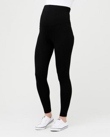Organic Over Bump Legging Black for Pregnancy and maternity