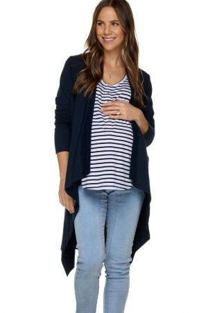 Bae The Label Navy Cardigan