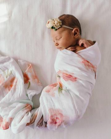 Sorbet Bloom by Snuggle Hunny Kids Baby Muslin Wrap