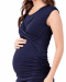 Dahlia Cross Your Heart Pregnancy Dress by Ripe Maternity