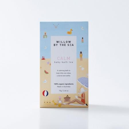 Baby Bath tea by Willow by the sea