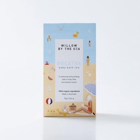 Breathe baby bath tea