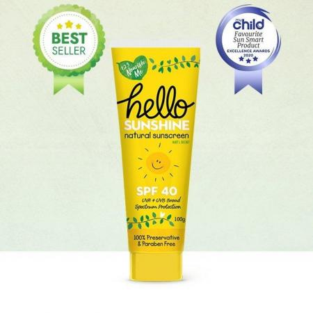 Hello Sunshine Baby and Kids Natural Sunscreen