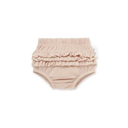 Rose dust ruffle bloomers by aster and oak