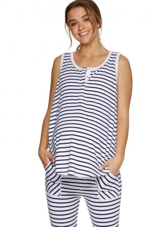 Night Life Sleep tank for pregnancy and nursing