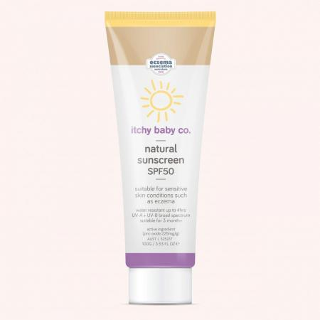 Natural Sunscreen Itchy Baby SPF50