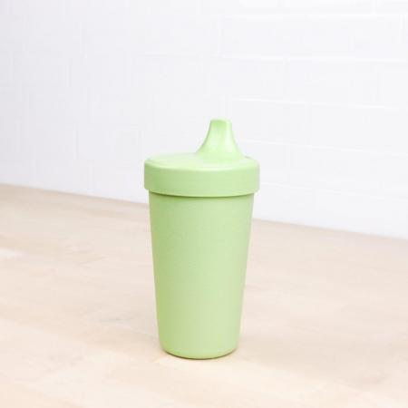 Replay no spill sippy cup leaf green