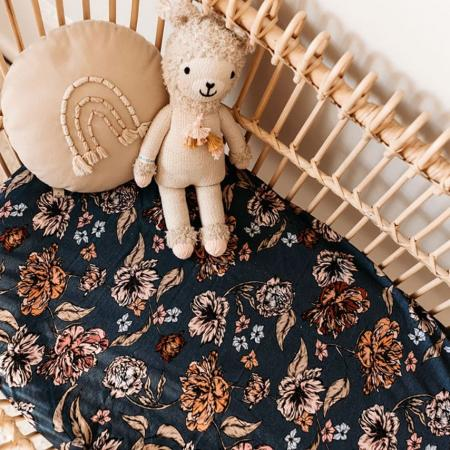 Belle bassinet change pad cover Snuggle Hunny Baby sleep