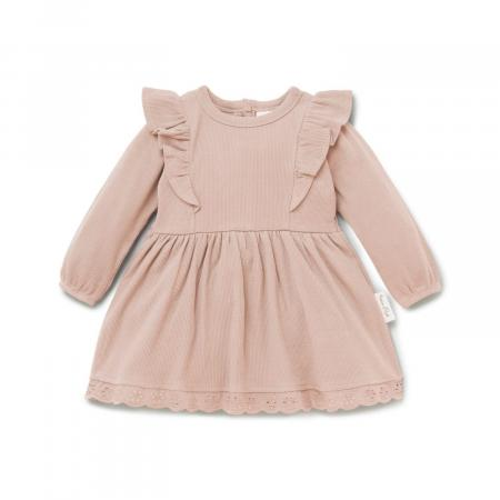 Cameo Rose Ruffle Dress baby Girl