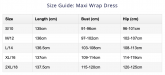 Maive Wrap Sizing