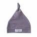 Baby Beanie Knotted Grey