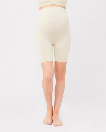 Maternity Seamless Support Shorts Nude