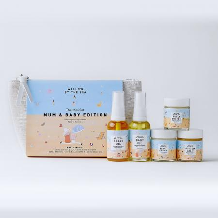 Travel Mum and Baby Gift Set Personal Care Kit All Natural Organic Ingredients