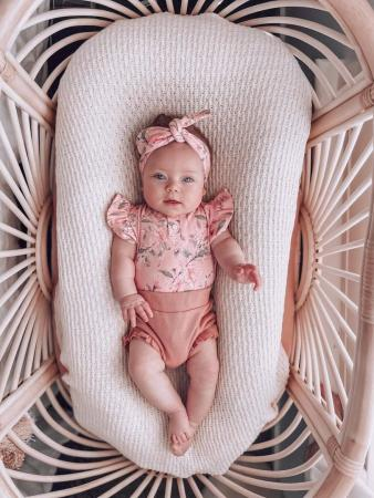 Pink Wattle Bodysuit and Bloomers by Snuggle Hunny Kids