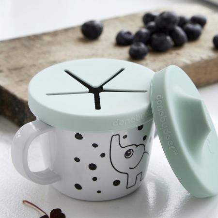 Snack cup and sippy cup in one for baby to toddler
